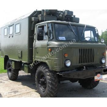 Автомобиль Газ 66 фургон, без лебедки