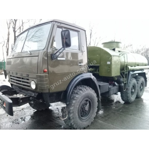 Автомобиль Камаз 4310 цистерна