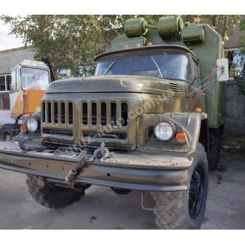 Автомобиль Зил 131 фургон, с лебедкой